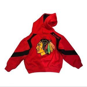 Reebok Chicago Blackhawks Red Hoodie